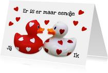 Liefde Valentijn Eendje voor mij