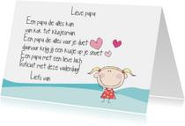 Vaderdag kaarten - Lieve papa 6