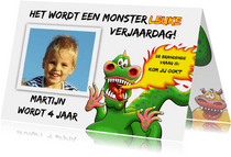 Monsterleuke verjaardagsfeestje voor kind