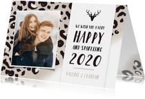 Neujahrskarte Foto & Pantherprint