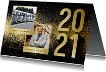 Neujahrskarte Geschäftskunden Fotos & Jahreszahl