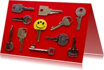 Nieuwe sleutel