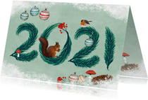 Nieuwjaarskaart 2021