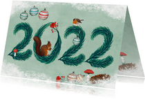 Nieuwjaarskaart 2022
