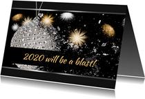 Nieuwjaarskaart Blast 2020 RB