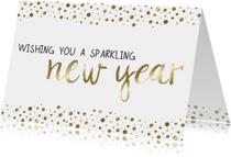 Nieuwjaarskaart Sparkling - WW