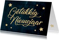 Nieuwjaarskaart sterren