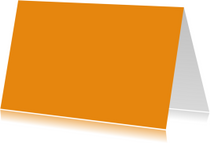 Oranje liggend dubbel