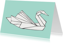 Bedankkaartjes - origami