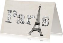 Vakantiekaarten - Paris