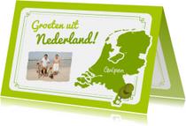 Persoonlijke vakantiekaart NL