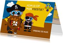 Piratenfeestje jongen