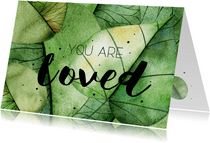 Religiekaartje: You are loved!