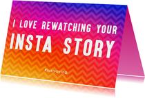 Valentijnskaarten - Rewatching Insta Story