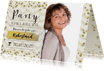 Ruhestand-Party champagner