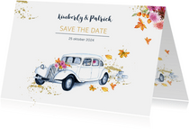 Save the date oldtimer herfst