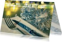 sfeervolle uitnodiging diner