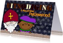SINT uitnodiging Sint en Piet L