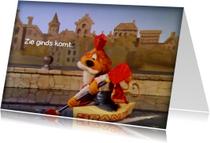 Sinterklaas Loeki roeiboot -A