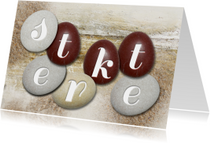 Sterkte stenen op hout - SG