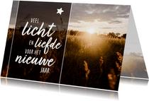 Sterkte - veel licht en liefde voor het nieuwe jaar