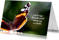 Sterkte vlinder gaat verder ME