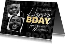 Stijlvolle verjaardagskaart foto's, Happy Birthday to you!