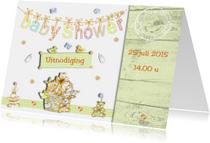 Uitnodiging Babyshower boy and girl
