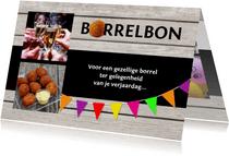 Uitnodiging borrelbon
