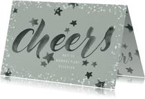 Uitnodiging kerstborrel medewerkers 'Cheers!