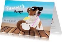 Uitnodiging Tuinfeest Summer party
