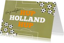 Uitnodiging TV EK voetbal kijken hup holland hup oranje