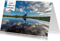 Urlaubskarte Fotomotiv Watteninsel Texel