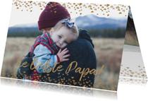 Vaderdag hartjes kaart