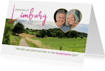 Vakantie in Limburg, het buitenland van Nederland
