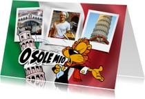 Vakantie Loeki in Italië vlag - A