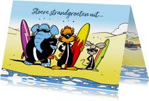 Vakantie stoere surfboys Loeki & friends - A
