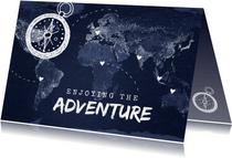 vakantiekaart wereldreis roadtrip kaart wereld