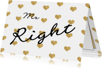 Valentijn mr Right