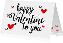 Valentijnskaart happy you