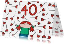 Verjaardag 40 jaar