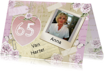verjaardag Anna hart