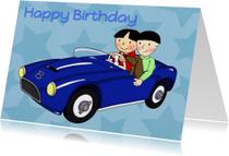 Verjaardag Auto Jongens - TbJ
