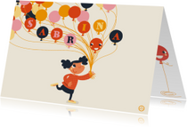 Verjaardag ballon , feest, NK