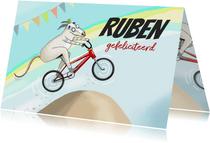 Verjaardag - BMX racebeest