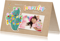 verjaardag fancactus kind