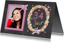 verjaardag leeftijd krans