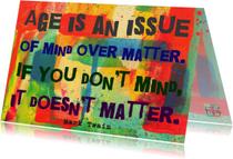 Verjaardag mind over matter IW