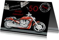 Verjaardag motor vijftig jaar
