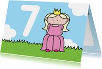 Verjaardag Prinses 7 jaar